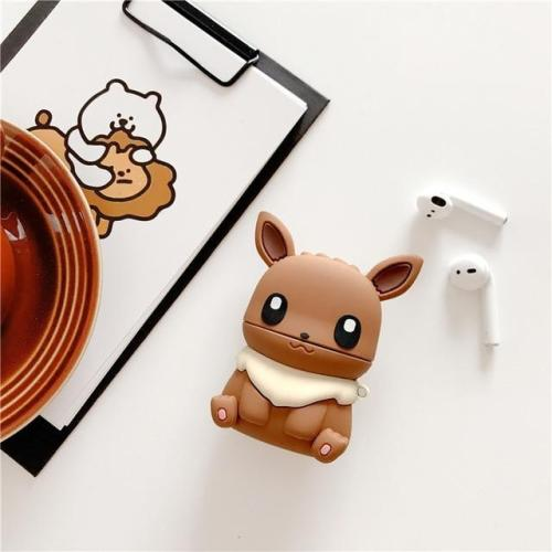 Cute 3D Silicone Pokémon Pikachu AirPod Case