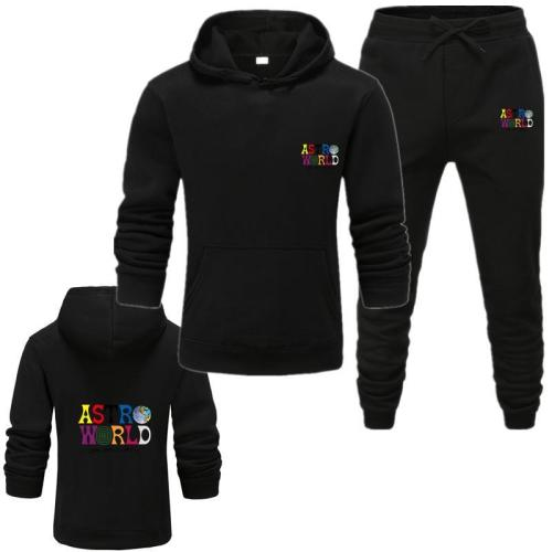Fall / winter 2020 hot sale men's Hoodie suit sports suit student warm sports suit Hoodie suit women's Sweatshirt suit