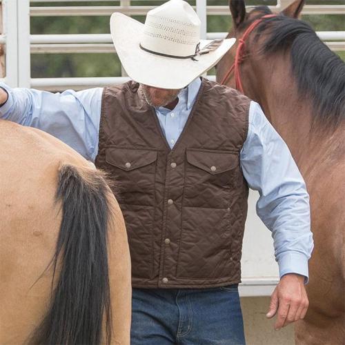 Vintage Loose Patch Pocket Vest