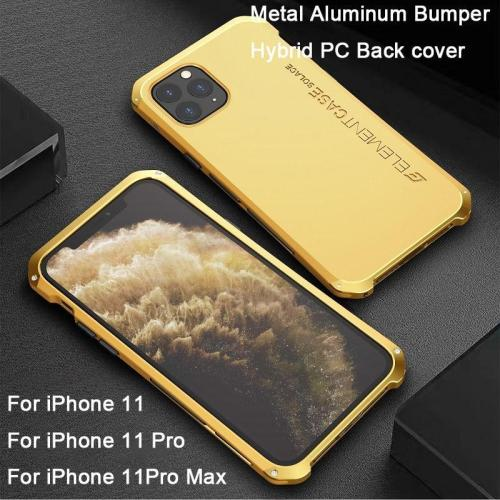 Metal Aluminum Bumber Hybrid Case For iphone
