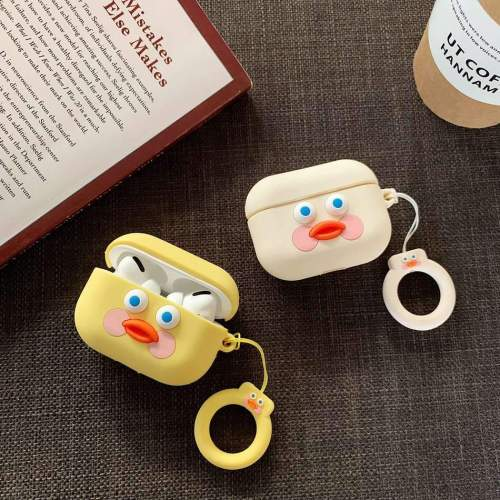 Cafe Mimi Duck AirPods Pro Case Charging Headphones Cases For Airpod Protective Cover