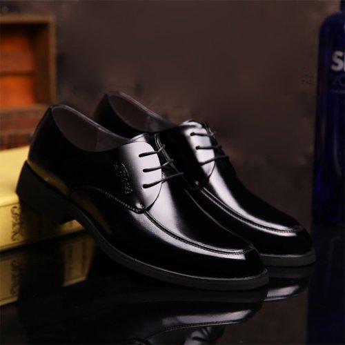 British men's business casual shoes