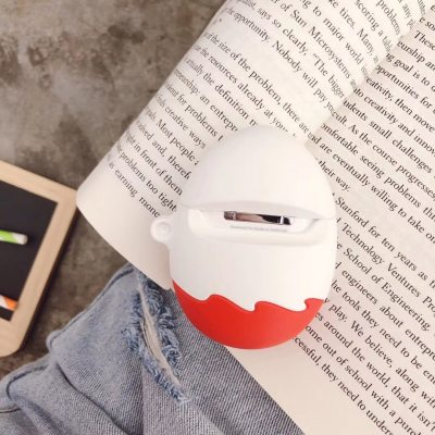 3D Kinder Fun Eggs AirPods Case Winter Warm Shockproof Cover