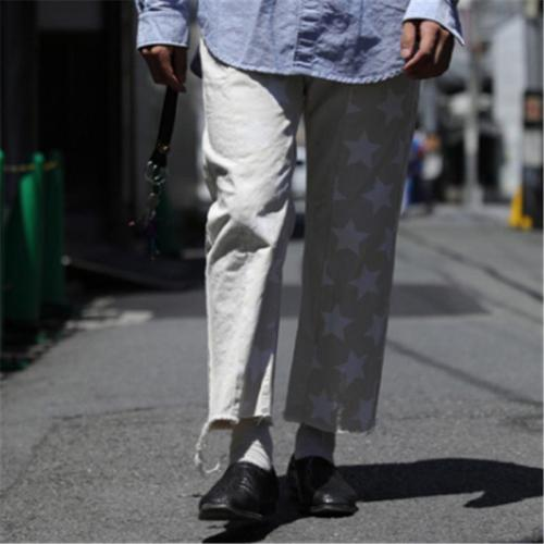 Casual Star Straight Long Pant YT009