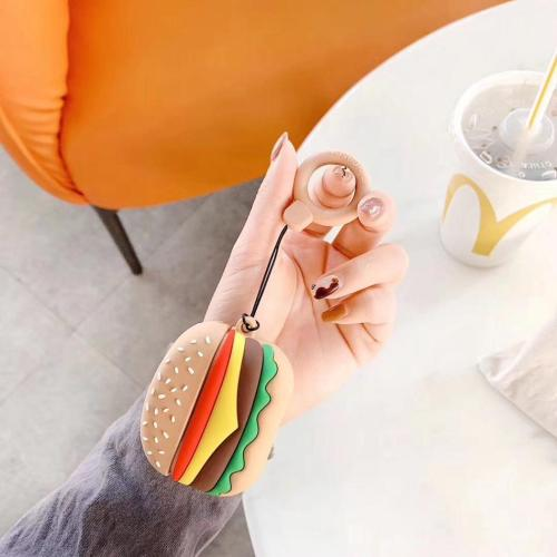 Burger and French Fries AirPods Pro Charging Headphones Cases