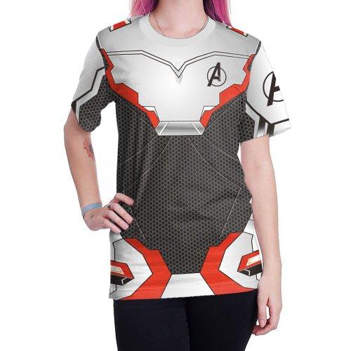 Avengers: Endgame Quantum Battle Suit 3D Print Unisex T-shirts