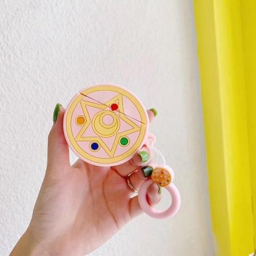 Sailor Moon Magic Circle Silicone AirPods Case Shock Proof Cover