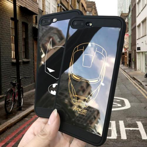Marvel Simple Strokes case for iphone X XS MAX XR 10 8 7 6 6S plus
