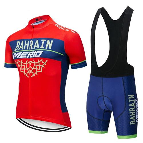2019 Cycling Jersey Summer Short Sleeves Set MTB Bike Bicycle Kits Outdoor Sports Suit Clothes Clothing