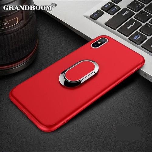 Magnet Car Holder Stand Shockproof Case For iPhone XS Max XR X 8 7 6 6S Plus