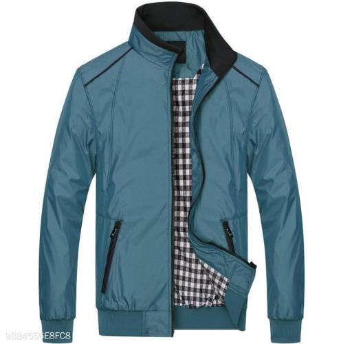 Blue And Green Light Mens Jacket