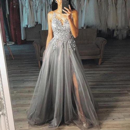Sexy V-Collar Sleeveless Sling Dress