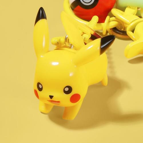 Cartoon 3D Pikachu AirPods Pro Charging Headphones Cases With Keychain Doll