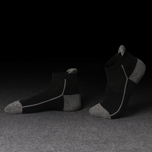 Net-eye casual thin coil sports socks