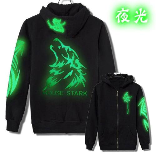 2020 tide jacket Men reflective jacket casual hiphop night sporting light mens hooded fluorescent clothing Dance Ghost Step coat