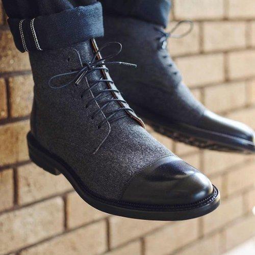 Coloured Men's Boots