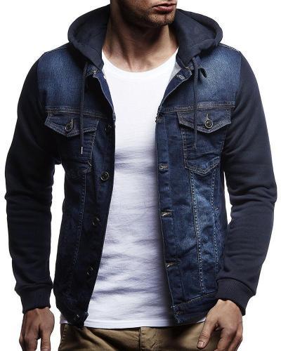 Fashion Casual Mens Denim Jacket