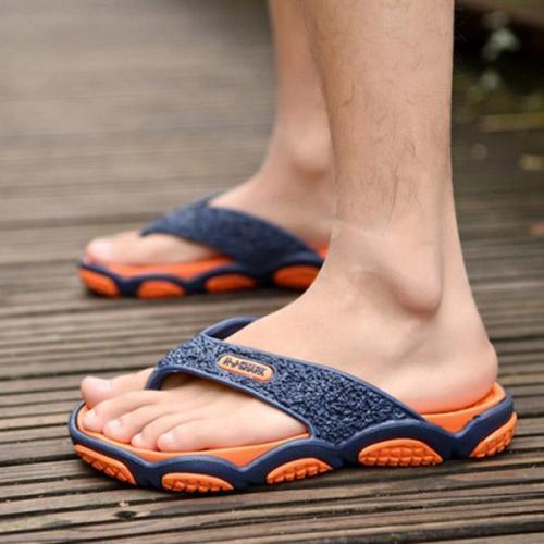 Mens Slip Resistant Clip Toe Casual Summer Beach Slippers