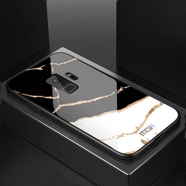 Luxury Marble Grain Hard Phone Case for Samsung Galaxy S9 S9 Plus