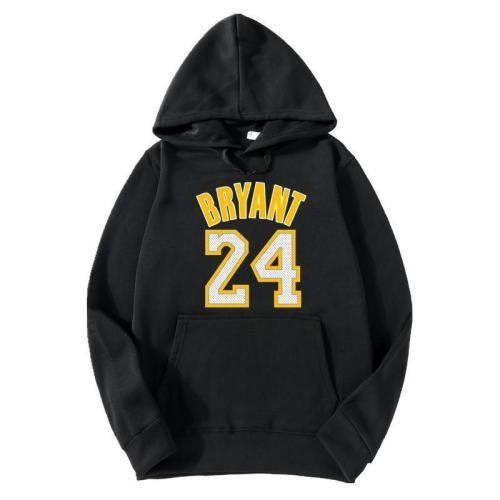 Men's Sweater Jacket Hoodie No. 24 Kobe