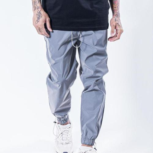 Men's Fashion Solid Loose Beam Trousers TT090