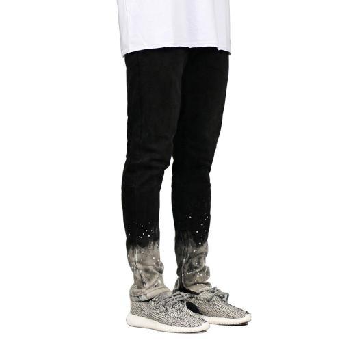 Gradient Splash Fashion Denim Pants Jeans