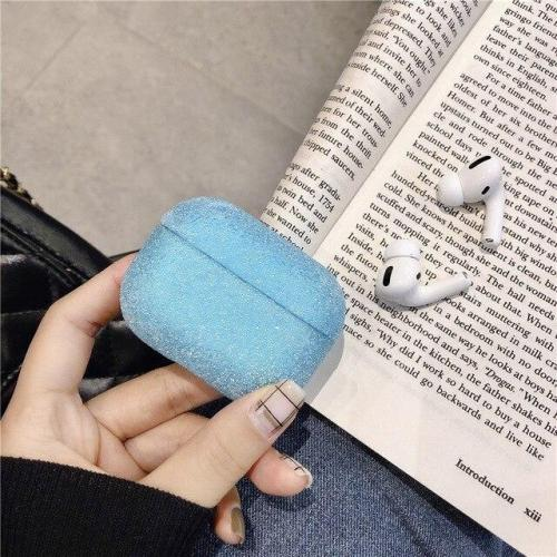 Luxury Glitter AirPods Pro Case Frosted Grain Texture Shock Proof Cover