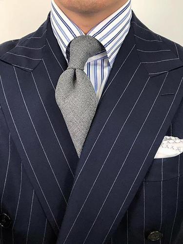 Men's Classic Pure Color Tie LH011