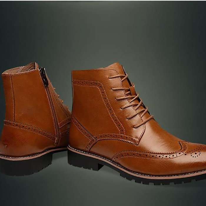 Bullock Carved Martin Boots