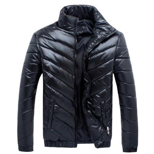 Winter Men's Down Jacket Stand Collar Jacket
