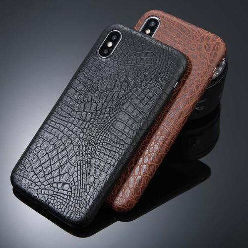 Crocodile Texture Leather Cases for iPhone