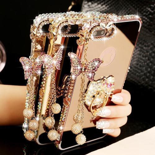 Luxury Diamond Bumper Case For Samsung(buy 2 got 10%off, 4 got 20%off)