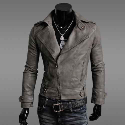 Fashion pure color lapel jacket