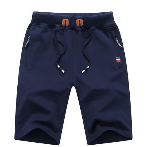 Men's Summer Breeches Shorts 2020 Cotton Casual Bermudas Black White Boardshorts Homme Classic Brand Clothing Beach Shorts Male