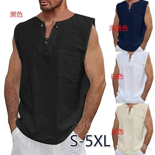 Adult Men Medieval Vintage Knight Warrior Costume Bust Lace up Tops Tunic Male Chevalier Braid Viking Pirate LARP Shirt Big Size
