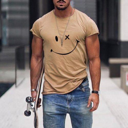 2021 Men's T-shirt Summer New Casual T Shirt Men Clothing O-neck Male Tee Tops Hip Hop Streetwear Tshirt Fashion T Shirt