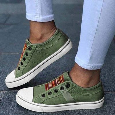 Women Sneakers Low-cut Trainers Canvas Flat Shoes Women Casual Vulcanize Shoes New Women Summer Sneakers Ladies Shoes