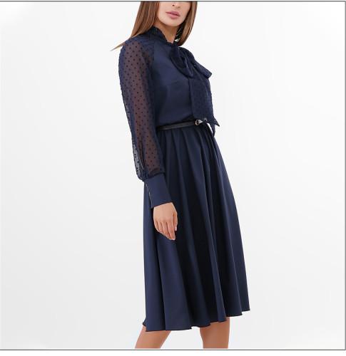 2021 Summer fashion Women Casual Dress Elegant Patchwork Solid Color A-line Dress No Belt Women Beach Thin Vestidos