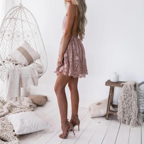2021 Summer European And American Fashion New Dress Casual Commuter Belt V-Neck Women'S Slim Dress Skirt