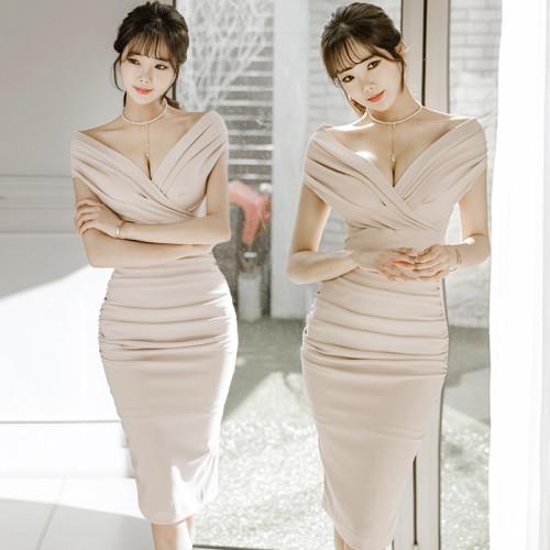 Bandage Dresses Women Sexy Bodycon Dress Fashion Off The Shoulder Pencil Dresses