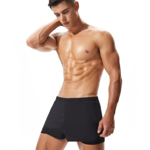 Men's Running Shorts Sports Breathable Sweatpants Male Quick Drying Training Exercise Jogging Gym Fitness Trousers with Pocket