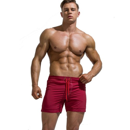 Surf Men's Swim Trunks beach shorts With Smaller Holes Less Abrasive On Your Genitals Mesh Inner Lining