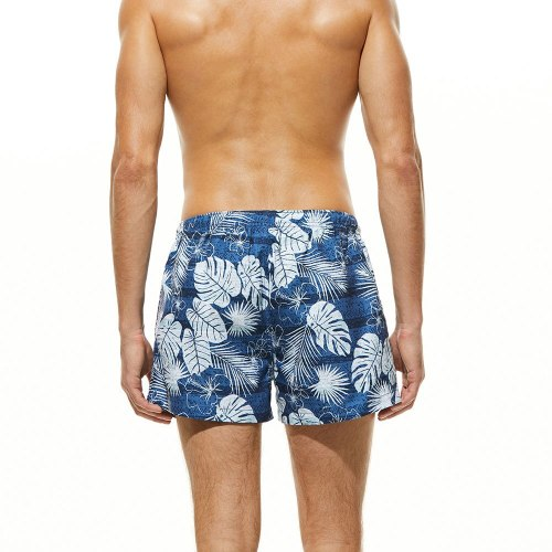 Summer Beach Pants Mens Surfing Short Quick Dry Swimming Trunks Sport Swimsuit Breathable Swimwear 2021 Beach Wear