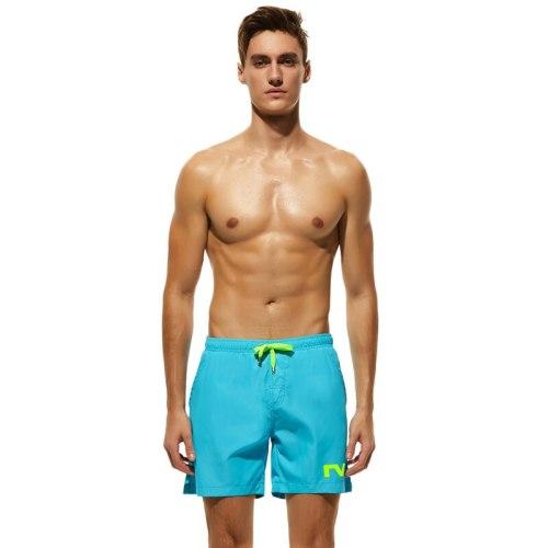 2021 New Summer Men Swimwear Sunga Beach Board Shorts Swim Trunks Leisure Short Bottom Quick Drying Men Sports Sweatpants Briefs