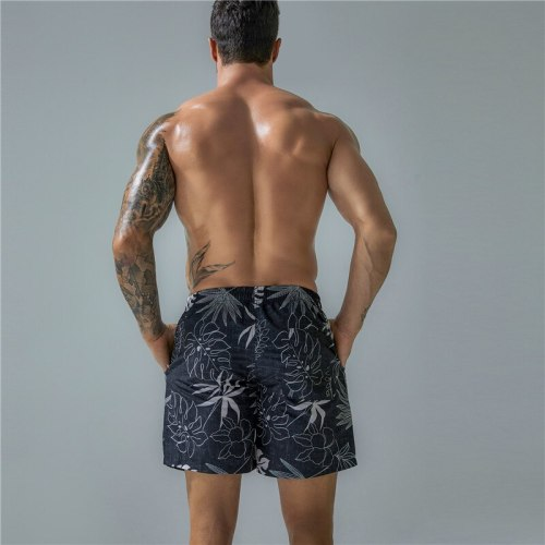 New Mens Swimming Shorts Man Beach Swimwear Swim Trunks Print Swimsuit Quick Dry Beach Wear XL Bathing Suits Short Outdoor Sport