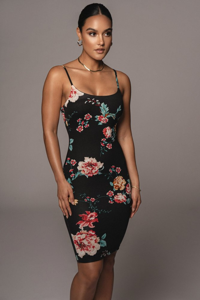 2021 New European And American Summer Fashion Sexy Temperament Printing Show Back Vest Sleeveless Wrap Short Dress