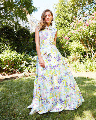 2021 Summer Maxi Floral White Dress Vacation Chic Casual Dress