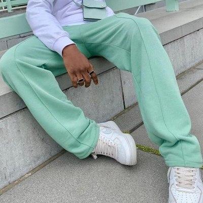 Men Pants Fashion Loose Solid Mid Waist Drawstring Straight Pants Spring Summer Mens Harajuku Streetwear Casual Trouser 3XL