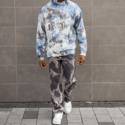 Casual Fashion Lightning Pattern Pants Street Hip Hop Pant