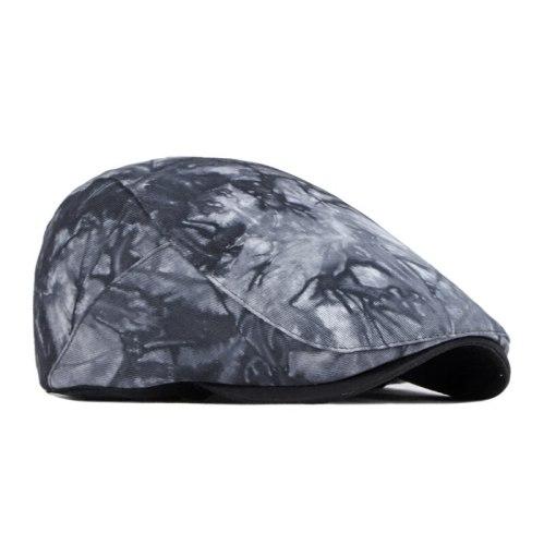 New Beret Men's Hat Chinese Style Cap British Retro Literature Newsboy Forward Hat Women's Hat